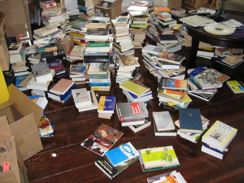 Unpacked-books